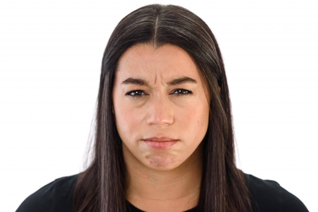 Lowered Eyebrows Body Language Cue