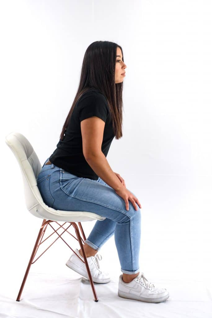 Seated-Readiness Body Language Cue