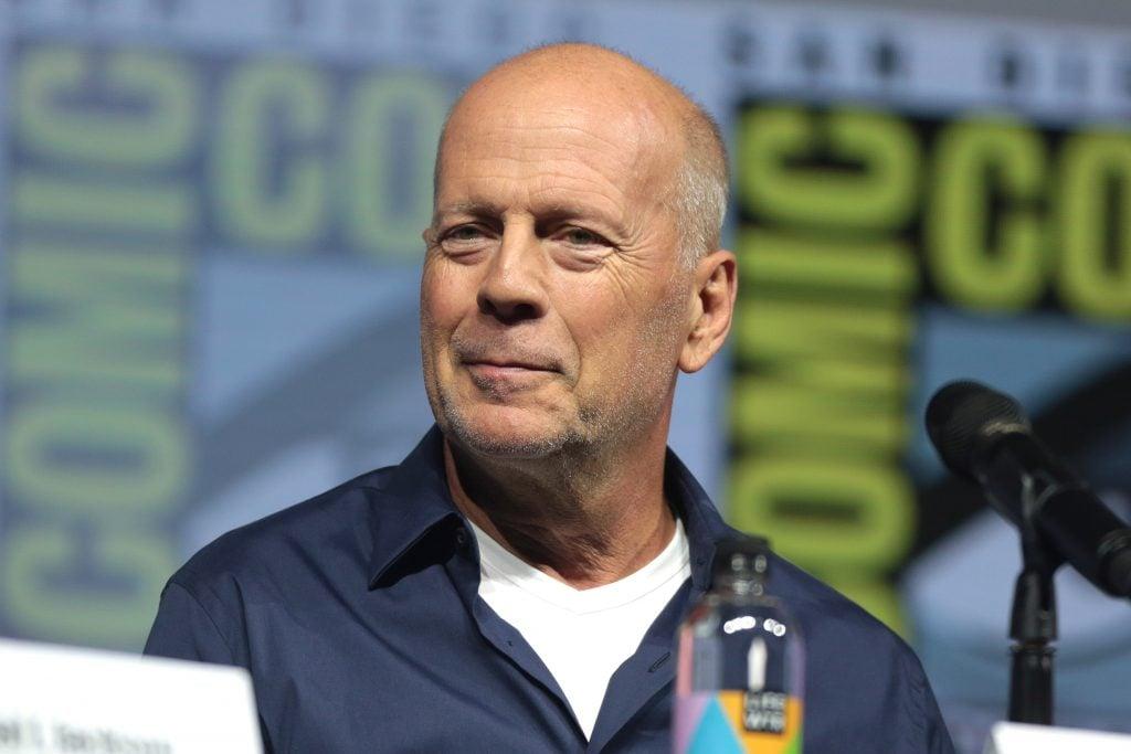 Bruce Willis Resting Smug Face