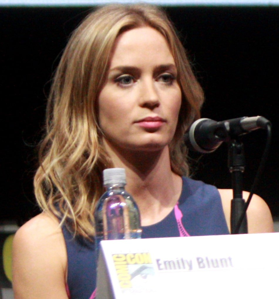 Emily Blunt resting bitch face