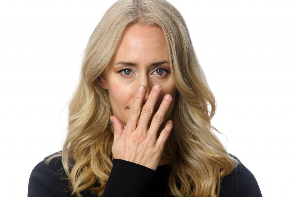Covering Mouth Body Language Cue