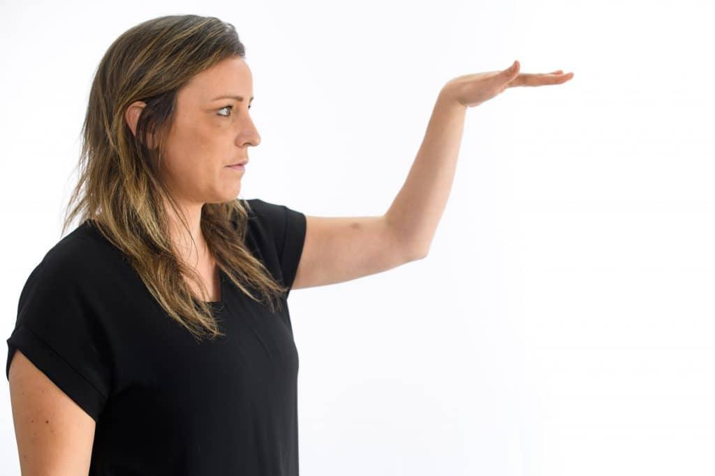 Growth body language cue