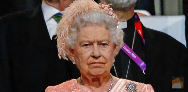 Queen Elizabeth's resting bitch face
