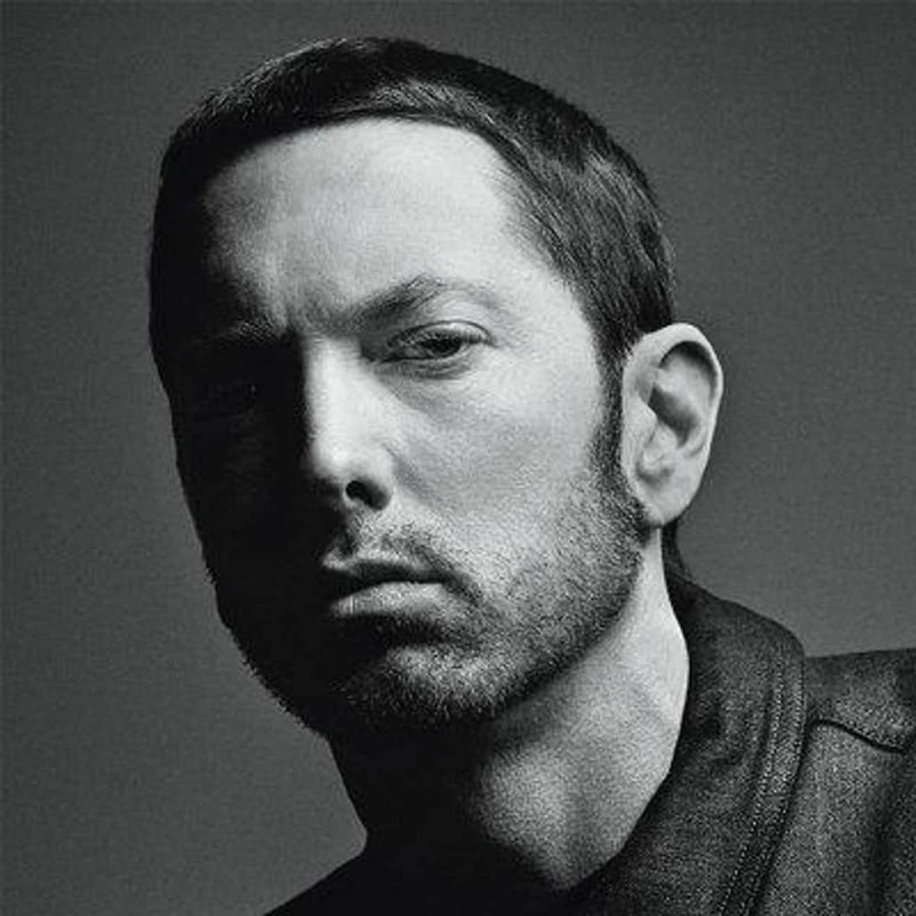 Eminem resting bitch face