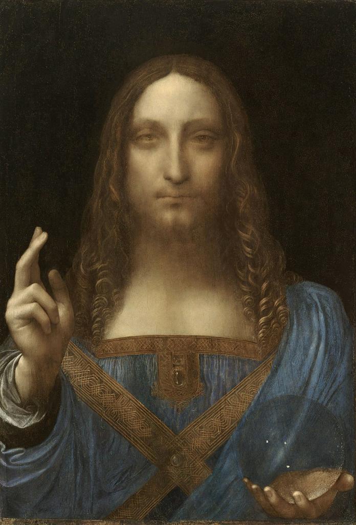Leonardo Da vinci's Salvatore Mundi Painting